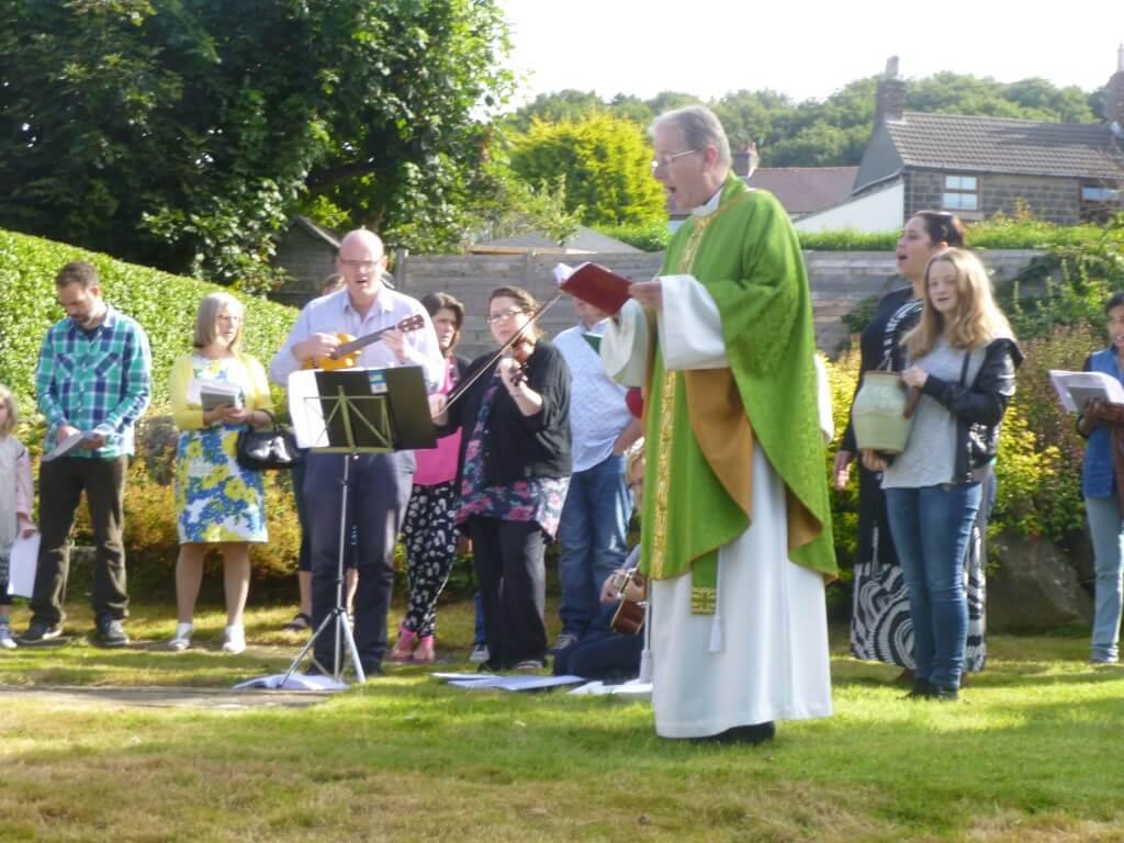 Garden Mass 2015
