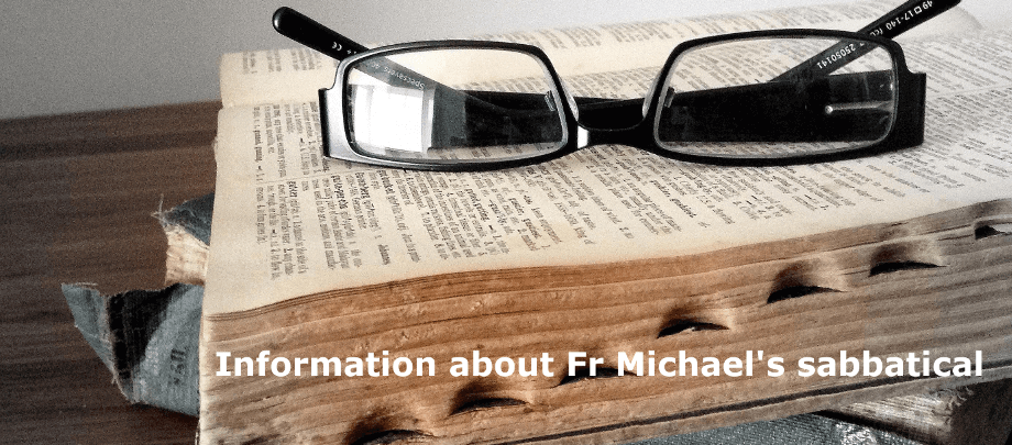 father-michael-sabbatical